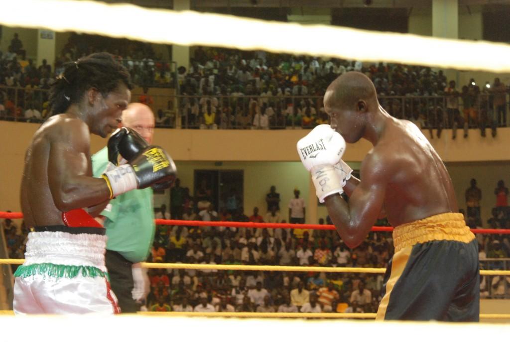Alexis Kaboré a réalisé un triplé en conservant sa ceinture