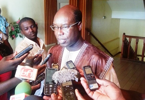Le président de la délégation spéciale de la commune de Ouagadougou