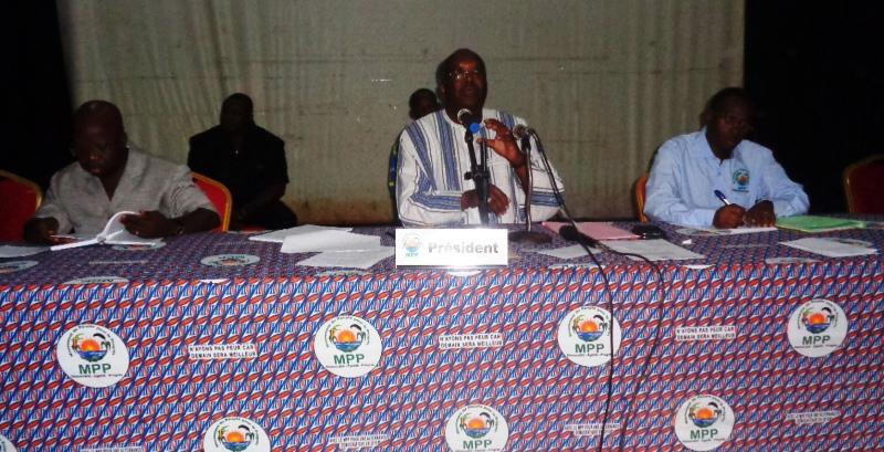 Le BPN du MPP a tenu sa quatrième Session ordinaire.