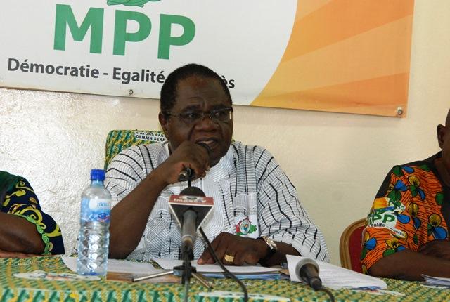 Paul Ismaël Ouédraogo, président de l'Union nationale des anciens