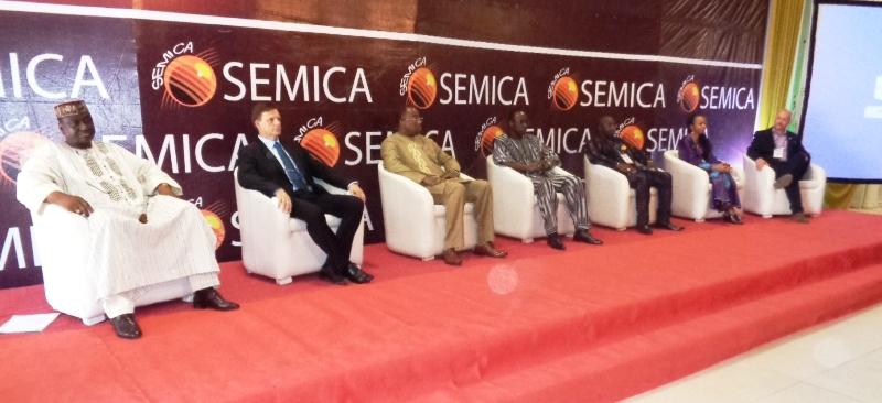 Plusieurs personnalités étaient présentes à la cérémonie d'ouverture de la 4e édition du SEMICA. (©Burkina24)