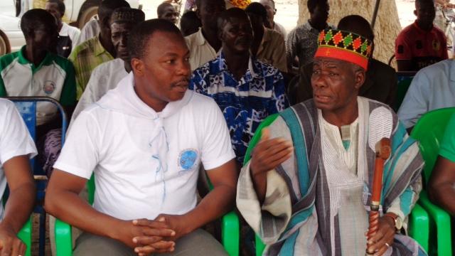 Le chef de Bassinko, à côté du président du RAD, estime que les choses ne seront plus comme avant  © Burkina24