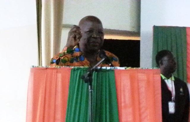 """Somon Compaoré a estimé que les anciens sont une """"roue essentielle"""" du MPP © Burkina24"""