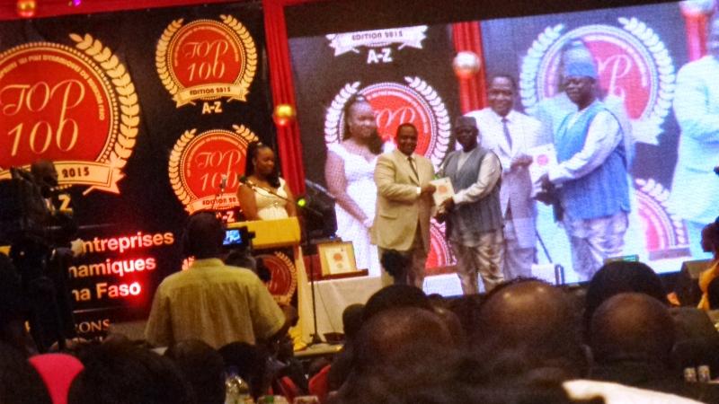 Toutes les entreprises lauréates ont également reçu leurs distinctions lors de cette soirée. (©Burkina24)
