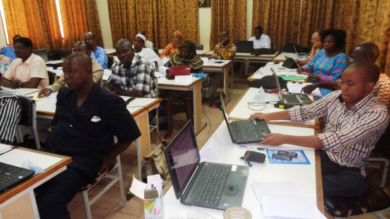 Une trentaine de participants à l'atelier de formation de deux jours organisé par le RVCC.