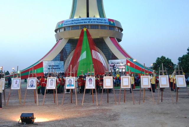 Les martyrs ont été élevés au rang de héros nationaux