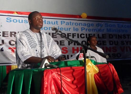 Dr Vincent SEDOGO, Directeur général du Patrimoine culturel du ministère de la culture et du tourisme ©B24