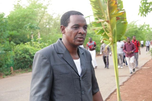 Le Secrétaire permanent du PAGIRE, Moustapha Congo.