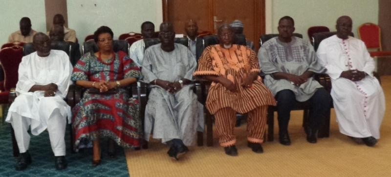 Plusieurs personnalités étaient présentes ou représentées  lors de ce séminaire-atelier.