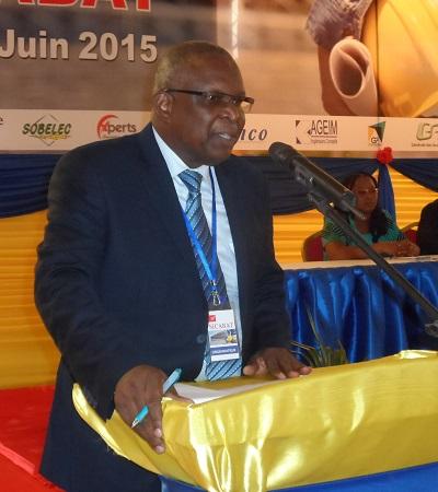 Yvon BASSOLE, commissaire général du SICABAT. ©B24