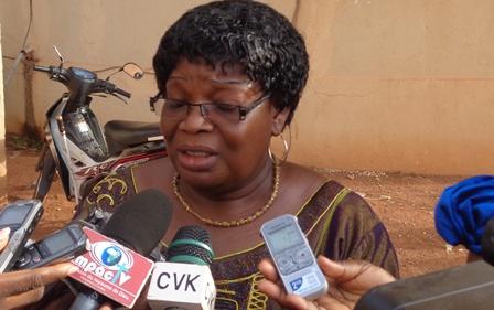 Soré Zongo Fatoumata, directrice régionale de la promotion de la femme et du genre du Centre