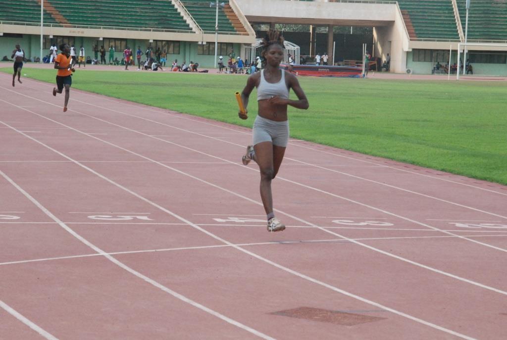 Diane Tiendrebeogo est repartie avec trois médailles en or