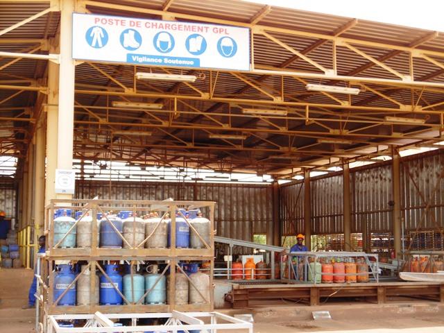 Le nouveau poste de stockage permettra d'augmenter les capacités de la SONABHY