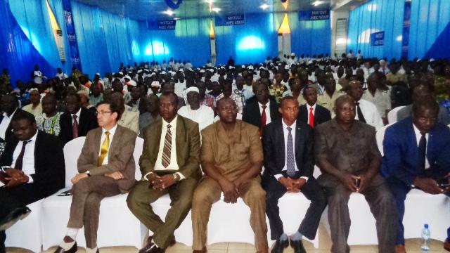 La cérémonie de lancement a vu la présence de bon nombre de participants, notamment des responsables de ministères et institutions publiques, directeurs et chefs d'entreprises, étudiants © Burkina24