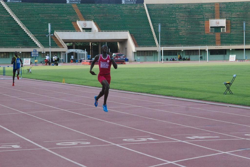 Ezaie Somda fait parti des espoirs de l'athlétisme burkinabè