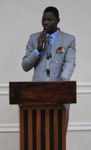 Moïse CONVOLBO, Président de l'Association des Burkinabè de Taïwan.