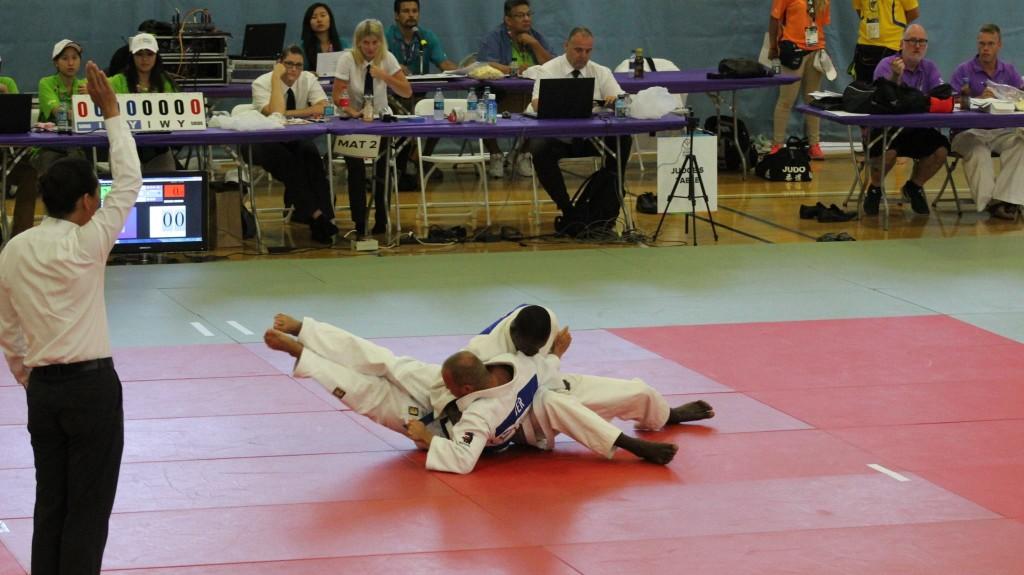 En Judo, Abourazaque Aporwo était trop fort pour ses concurrents
