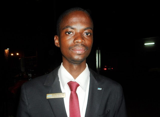 Michael YAGIBOU, président de la JCI Ouagadougou. ©B24
