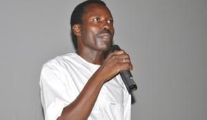 Sékou Traoré, réalisateur du film l'oeil du cyclone