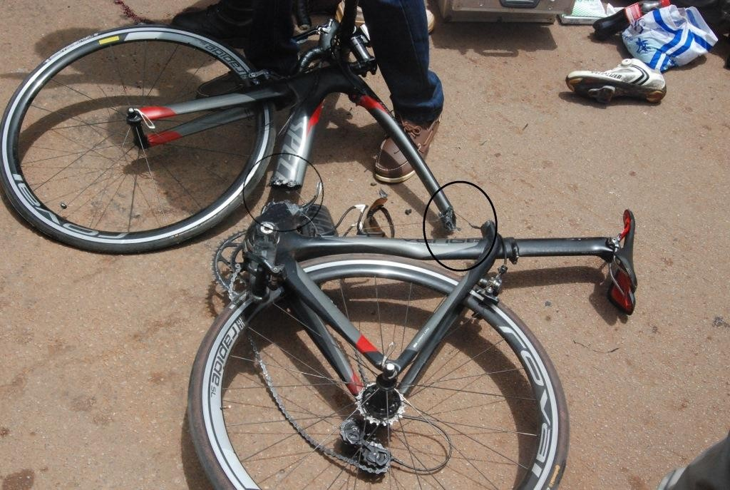 Le velo de Salfo Bikienga ne peut plus servir pour des compétitions de cyclisme