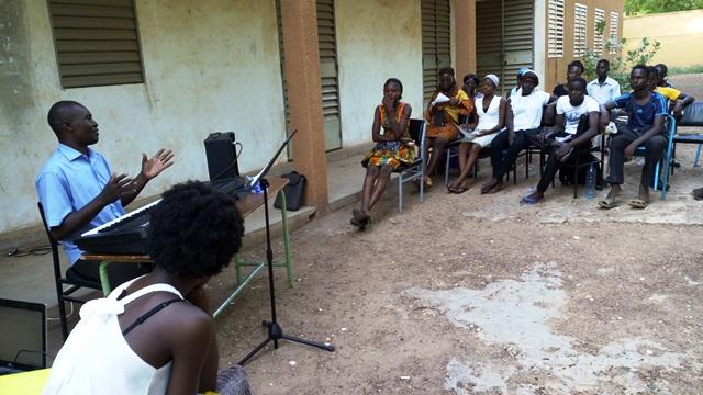 A présent la mise en commun pour sortir la mélodie © Burkina24