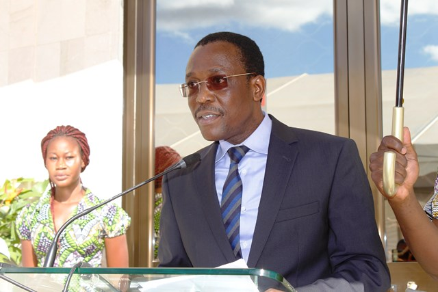 Sébastien Toni, directeur général de la BOA au Burkina Faso © L'Obs