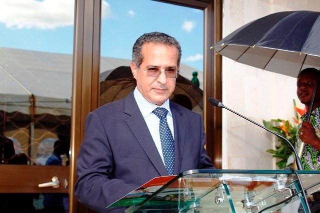 Abderrazzak Zebdani, directeur général adjoint du groupe BOA ©L'Obs