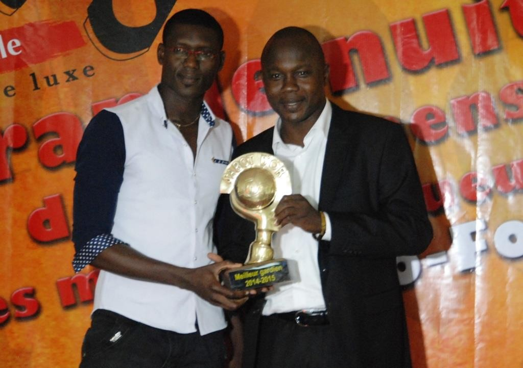 Baba Zongo (gauche) est cette année encore le meilleur gardien