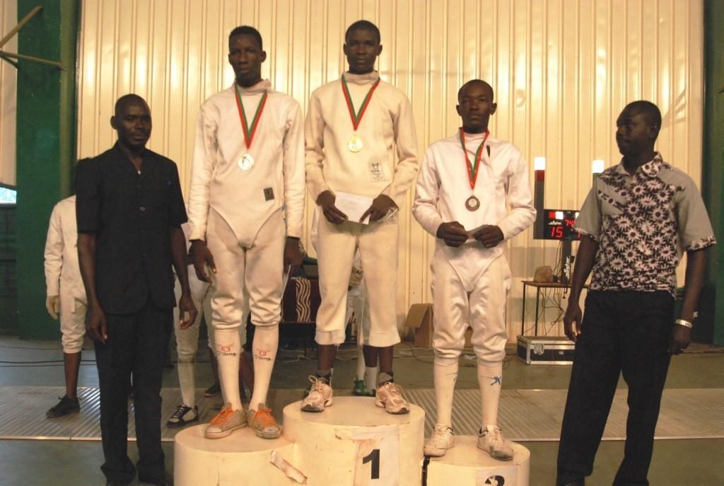 Abdoul Nabid Koala a survolé le championnat 2015 d'escrime