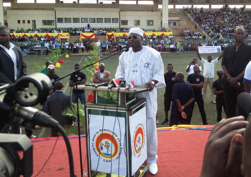 La candidature à l'élection présidentielle de 2015 de Eddie Komboïgo a été rejetée.