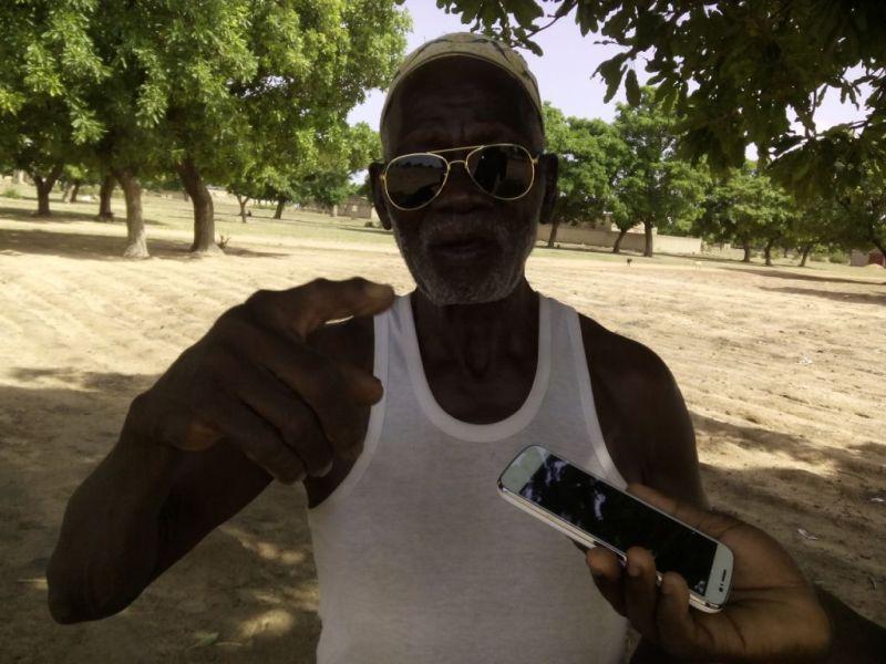 « C'est parce que je le soutenais en politique qu'il m'a même donné les deux parcelles », rétorque Abdoulaye Balima.