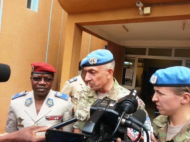 Michael Lollesgaard : « Je vais souligner que je suis très satisfait de la contribution du Burkina Faso »,
