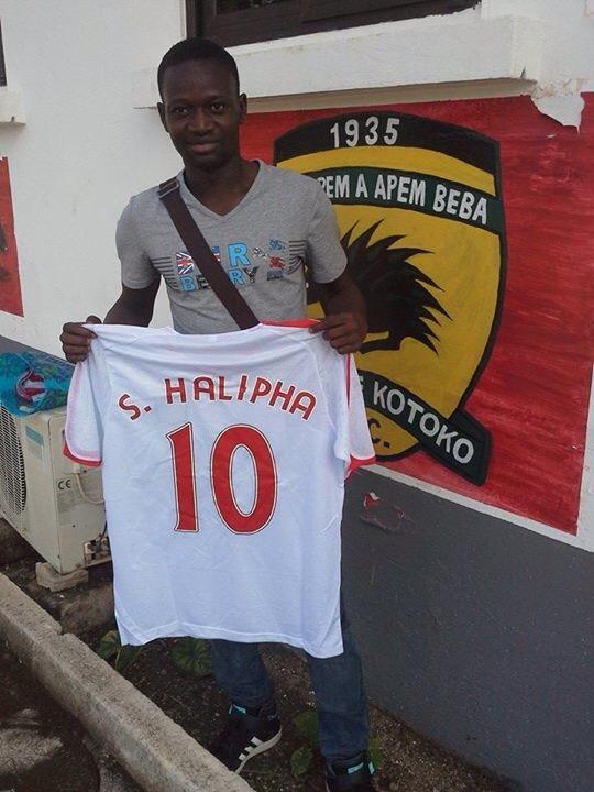Le Burkinabè Halipha Sédogo va désormais évoluer dans le championnat ghanéen