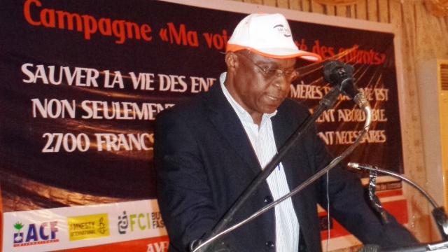 Salifou Konaté, porte-parole de la coalition