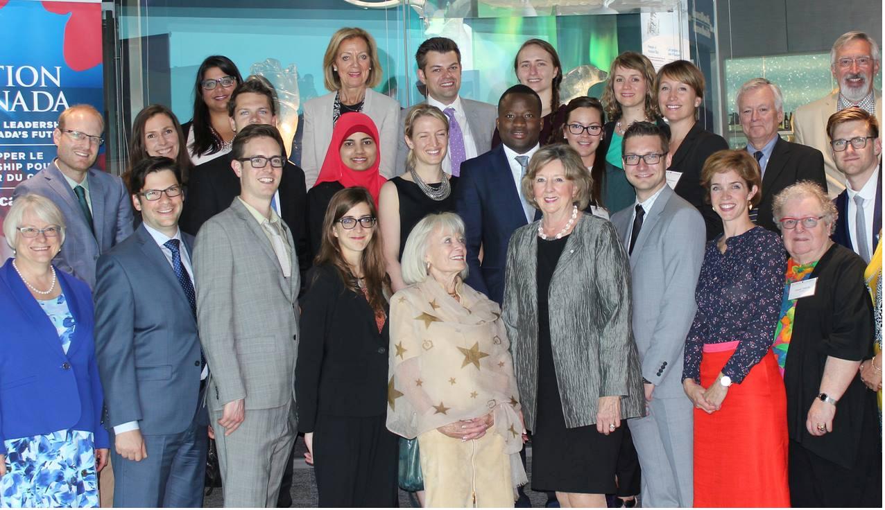 top 20 des jeunes leaders du Canada