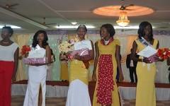 Bijou Ouédraogo couronnée  Miss Hivernage Burkina  2015