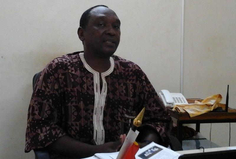 Rachid Ouédraogo, responsable de la laiterie de Fada
