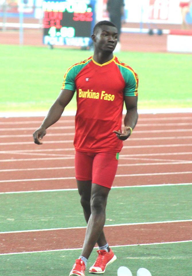 L'un des espoirs de médaille du Burkina n'a pu s'imposer au triple saut
