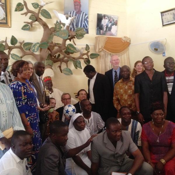 Une forte délégation était présente au Palais du Mogho Naaba, ce samedi 26 septembre 2015.