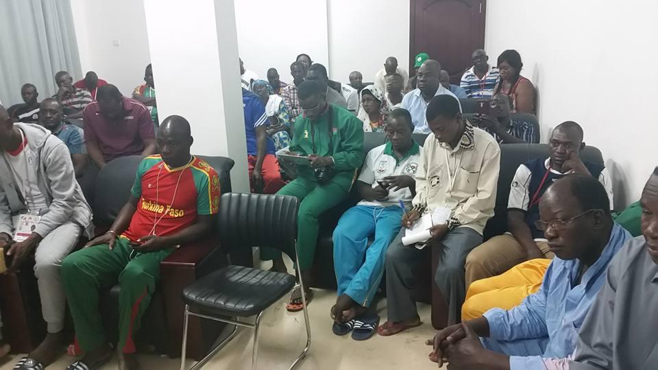 Les représentants burkinabè aux Jeux Africains sont pressés de retrouver leur famille