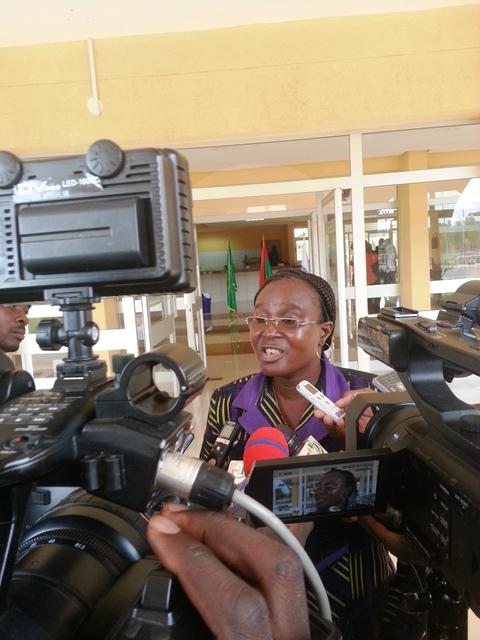 Pour Laetitia Koudougou, il était temps de procéder au vote de la loi portant prévention, répression des violences à l'égard des femmes et des filles et leur prise en charge