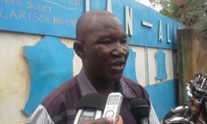 Yabré Aimé, délégué du personnel licenciés de l'usine Tan Aliz