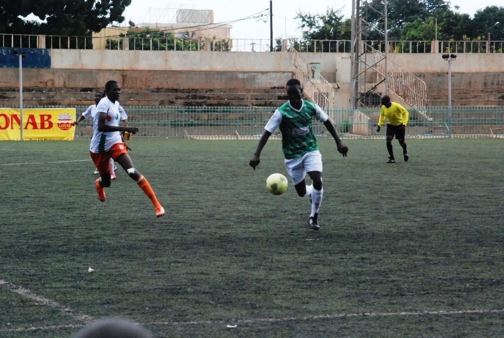 Salimata Simporé (vert) a permis aux Princesses de remporter la finale