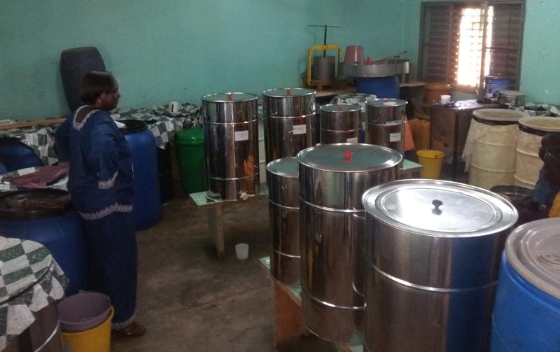 C'est ici que se font la collecte, le stockage, le filtrage, le conditionnement et la conservation.