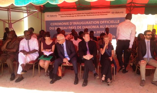 Des représentants de coprs diplomatiques ont aussi été présents lors de cette cérémonie.