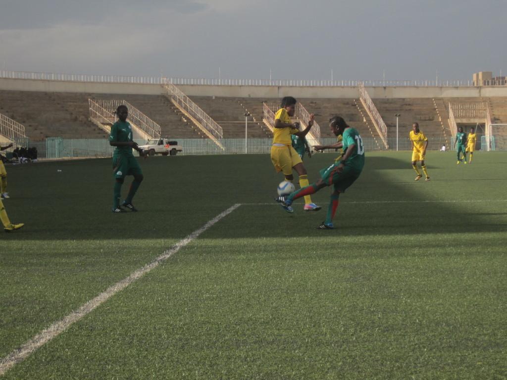 Le Burkina en vert doit marquer trois buts de plus pour se qualifier au 4ème tour de ces qualifications