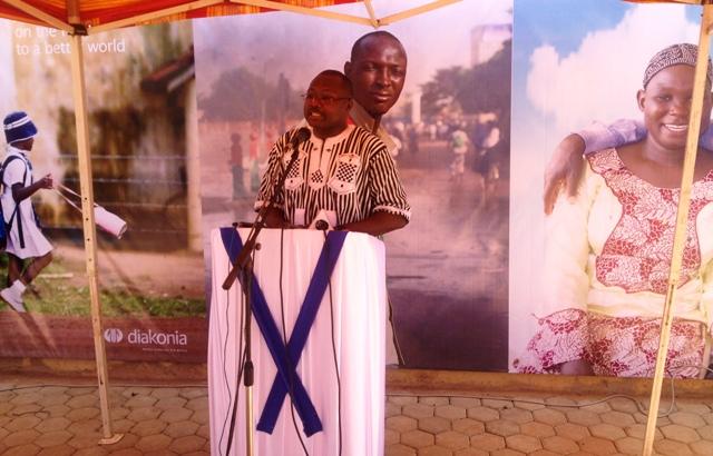 Luther Yaméogo, Directeur pays de Diakonia pense aux nouveaux défis à relever et exhorte les uns et les autres à s'y investir.