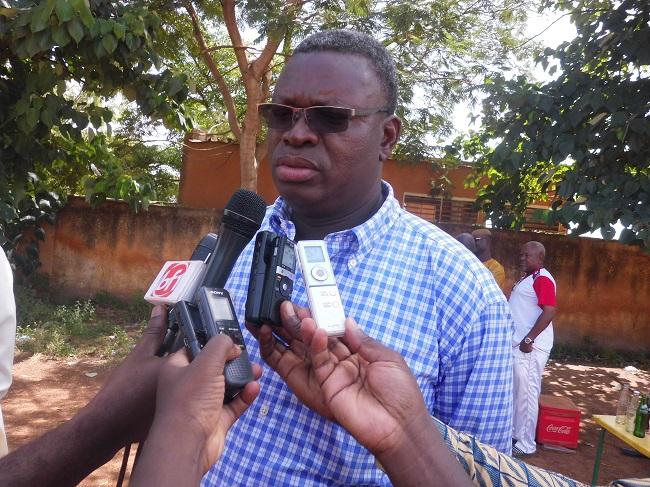 Le nouveau président du Santos FC Mahamadi Sawadogo doit faire mieux que la saison écoulée