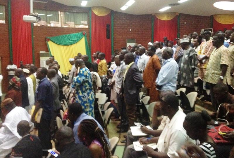Plusieurs militants du CDP étaient présents lors de cette 56e session ordinaire du parti.