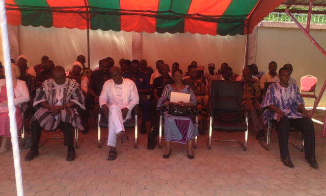 Plusieurs personnalités étaient présentes à la cérémonie d'inauguration du nouveau siège de Diakonia.